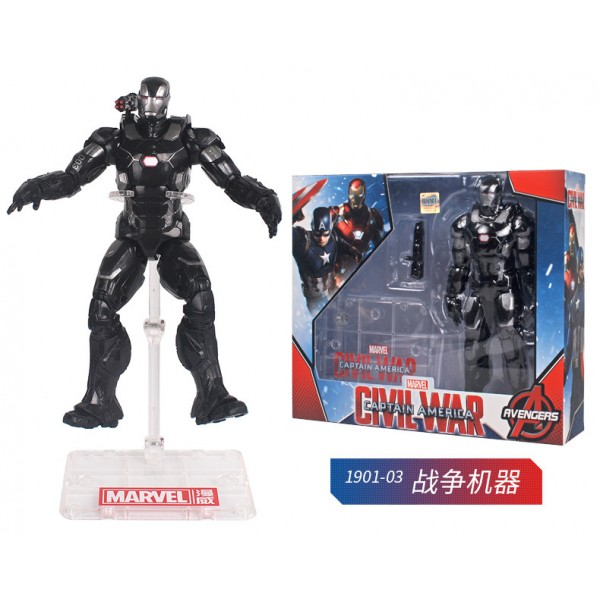 Avengers 4 Spider-Man Iron Man Super Movable Model Stent Edition
