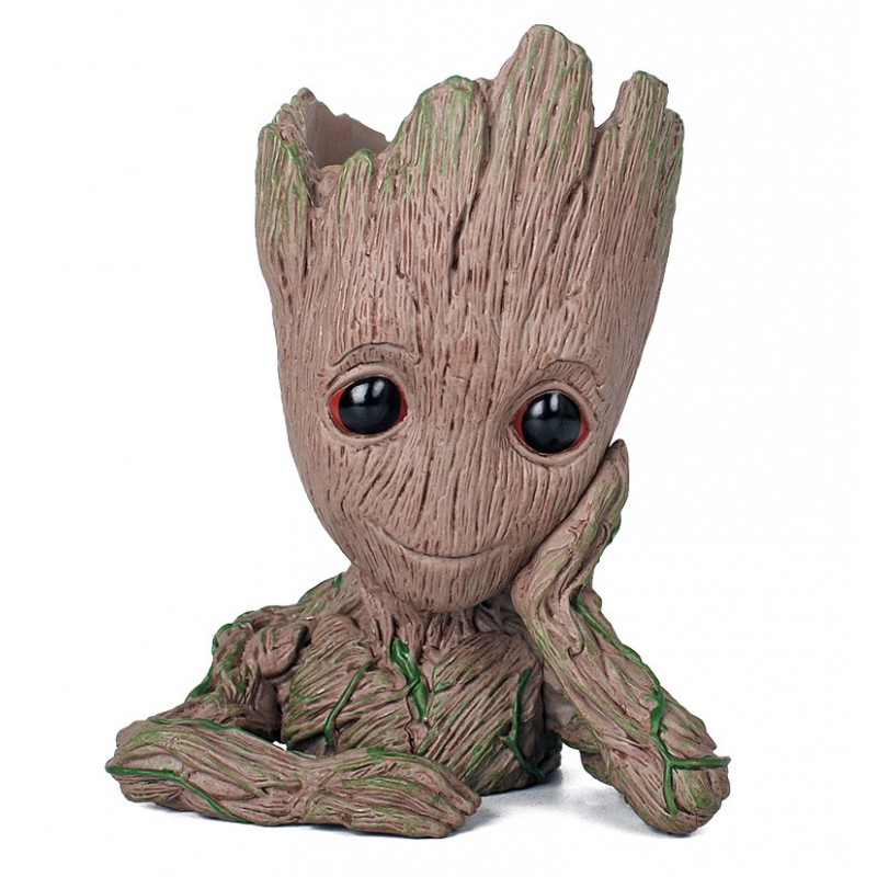 Groot pen container BB doll model toy PVC