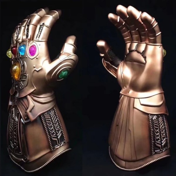 Avengers Infinity War Extinction Bully Glove 1:1 can be worn Cosplay props soft latex