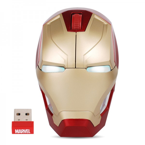 Iron Man MK46 wireless optoelectronic mouse Marvel licensed Captain America 3 digital peripheral